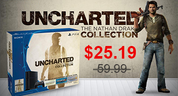 Get 58% off UNCHARTED: The Nathan Drake Collection PS4